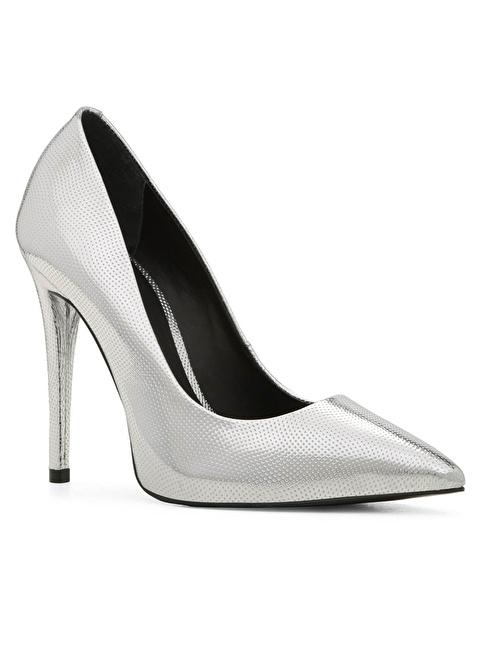 Aldo Deri Stiletto Ayakkabı Gümüş